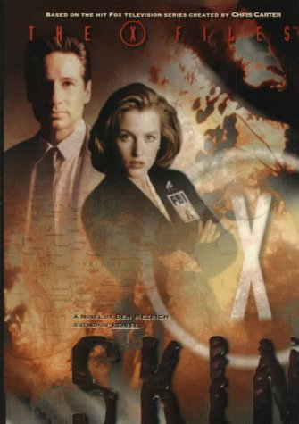 The X-Files: Skin 1st edition Hardcover Signed Gillian Anderson & David Duchovny