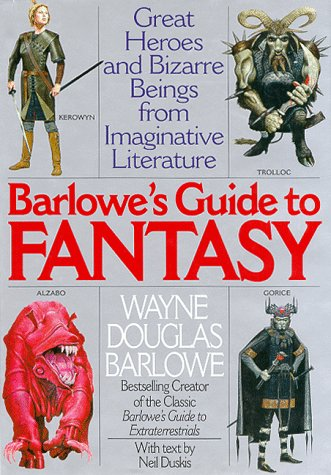 9780061052385: Barlowe's Guide to Fantasy