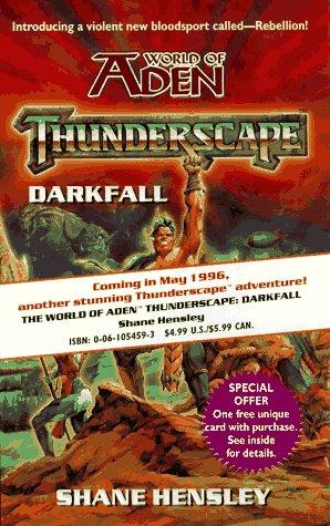 9780061054594: Thunderscape: Darkfall (World of Aden)