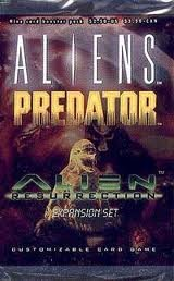9780061055294: Aliens Predator CCG Booster Pack