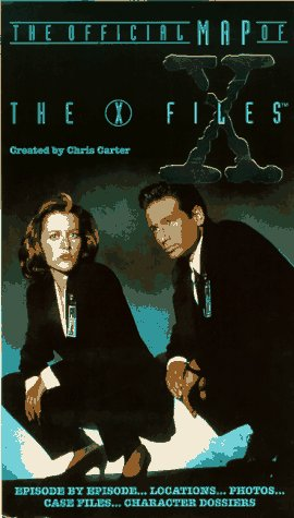 9780061055331: The Official Map of The X-Files