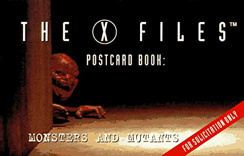 9780061055379: The X Files Postcard Book: Monsters and Mutants