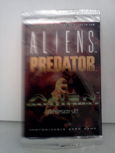 9780061055652: Alien Resurrection Expansion Booster Pack (Aliens Predator CCG)