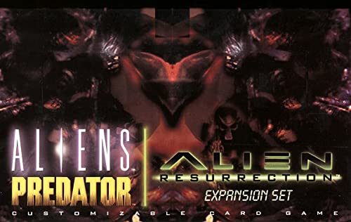 9780061055669: Aliens Predator Customizable Card Game: Alien Resurrection Expansion Set