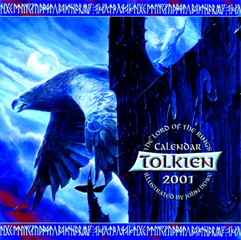 9780061058523: Tolkien 2001 Calendar With Poster: The Lord of the Rings