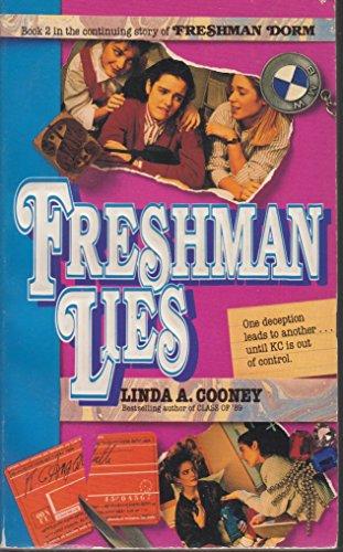 9780061060052: Freshman Lies (Freshman Dorm)