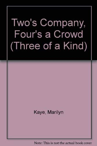 9780061060588: Two's Company, Four's a Crowd (Three of a Kind)