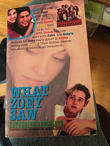 9780061061905: What Zoey Saw (Boyfriends/Girlfriends)