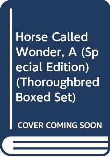 9780061062179: Horse Called Wonder, A (Special Edition) (Thoroughbred Boxed Set)