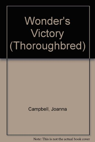 9780061062193: Wonder's Victory (Special Edition) (Thoroughbred Boxed Set)