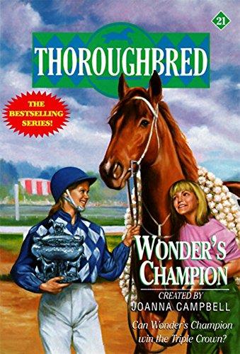 9780061064913: Wonder's Champion (Thoroughbred Series #21)