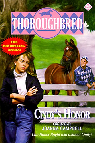 9780061064937: Cindy's Honour (Thoroughbred)