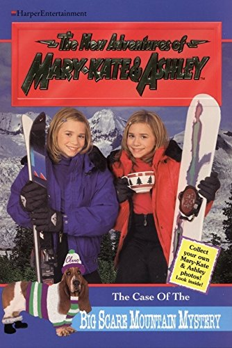 9780061065873: The Case of the Big Scare Mountain Mystery (New Adventures of Mary-Kate and Ashley Olsen, No. 14)