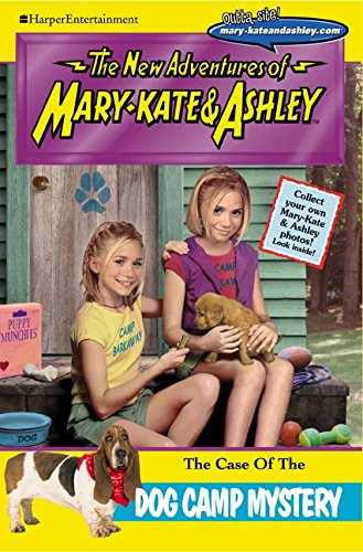 9780061066467: New Adventures of Mary-Kate & Ashley #24: The Case of the Dog Camp Mystery: The Case of the Dog Camp Mystery
