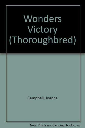 9780061067037: Wonder's Victory (Thoroughbred #4)