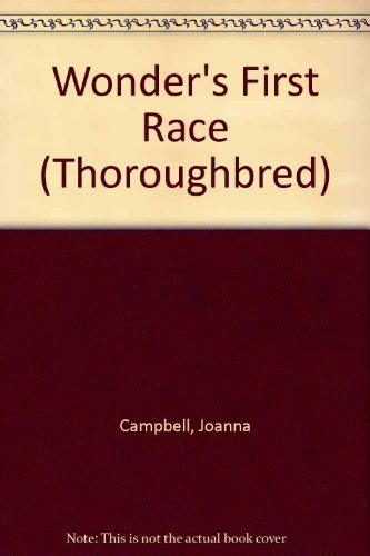 9780061067044: Wonder's First Race (Thoroughbred)