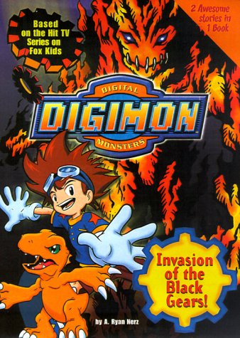 9780061071874: Digimon #02: Invasion of the Black Gears! (Digimon Digital Monsters)