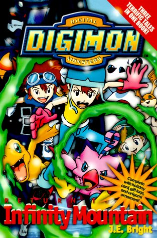 9780061071966: Digimon Deluxe Novel: Return to Infinity Mountain (Digimon Deluxe Novels)