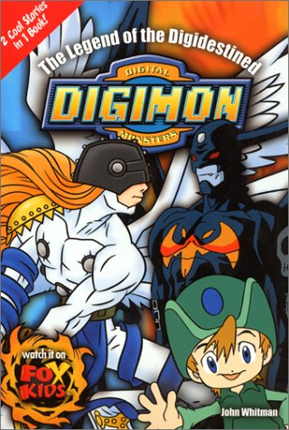 9780061071980: The Legend of the Digidestined (Digimon Digital Monsters)