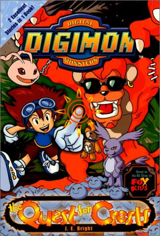 9780061071997: Digimon #06: The Quest for Crests (Digimon Digital Monsters)