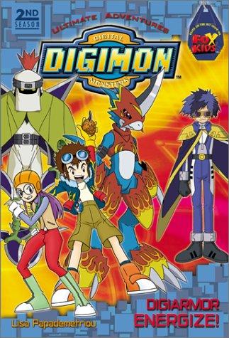 9780061072048: Digimon 2nd season Ultimate Adventures #1: DigiArmor Energize!: (DigiArmor Energize!) (Digimon Digital Monsters Season 2)