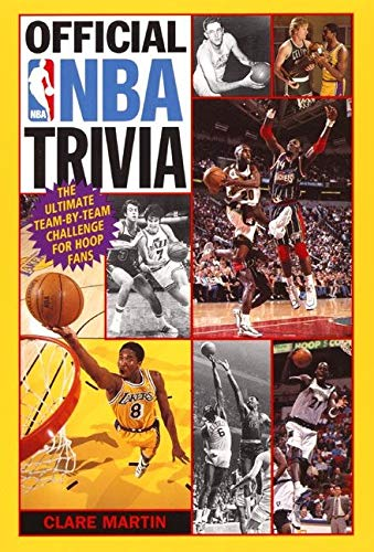 9780061073601: Official NBA Trivia: The Ultimate Team-by-Team Challenge for Hoop Fans