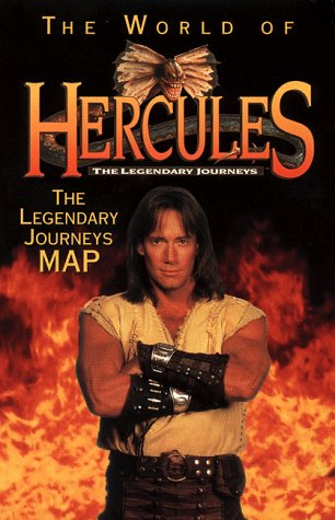 9780061075087: The World of Hercules: The Legendary Journeys Map
