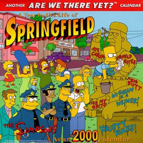 9780061075803: The Simpson's 2000 Calendar