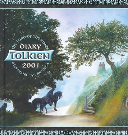 9780061076046: The Tolkien 2001 Desk Diary