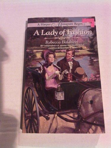 9780061082467: A Lady of Fashion: Harper Mongram Regency