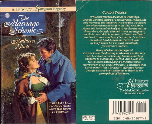 The Marriage Scheme (Harper Monogram): Elliott, Kathleen