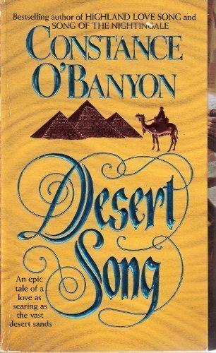 9780061082900: Desert Song (Harper Monogram)