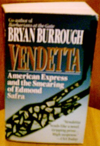 9780061090226: Vendetta: American Express and the Smearing of Edmond Safra