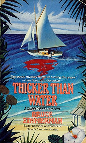9780061090264: Thicker Than Water (Quinn Parker Mystery, Book 2)