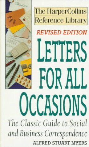9780061092831: Letters for All Occasions