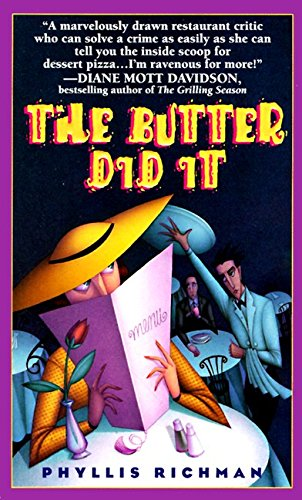 9780061096259: The Butter Did It: A Gastronomic Tale of Love and Murder (Chas Wheatley Mysteries)