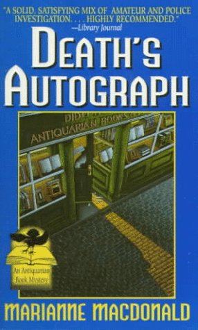 9780061097423: Death's Autograph (Antiquarian Book Mysteries)