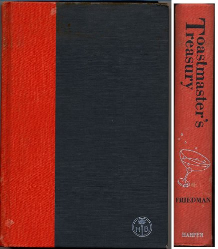9780061106903: Toastmaster's Treasury