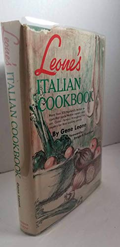 9780061110122: Leone's Italian Cookbook