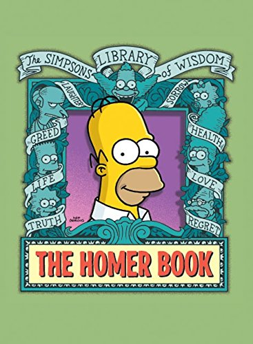 9780061116612: The Homer Book (Simpsons Library of Wisdom)