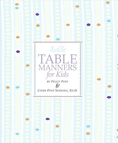 9780061117091: Emily Post's Table Manners for Kids
