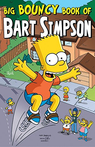 9780061124556: Big Bouncy Book of Bart Simpson (Simpsons Comic Compilations)
