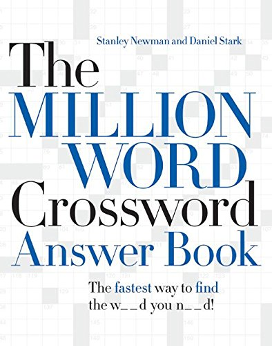 9780061125904: Million Word Crossword Answer Book, The