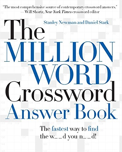9780061125911: The Million Word Crossword Answer Book