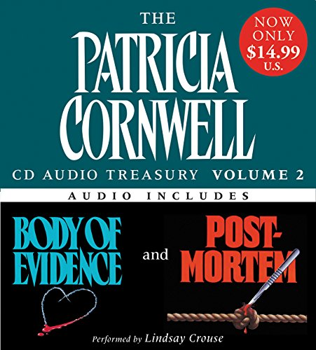9780061127403: Patricia Cornwell CD Audio Treasury Volume Two Low Price: Includes Body of Evidence and Post Mortem (Kay Scarpetta Series)