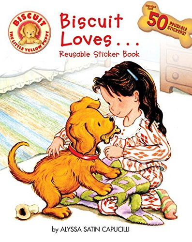 9780061128387: Biscuit Loves... Reusable Sticker Book
