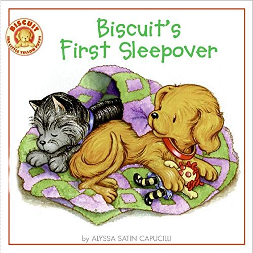 9780061128424: Biscuit's First Sleepover