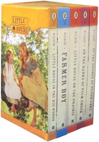 9780061128547: Little House 5 Book Box Set
