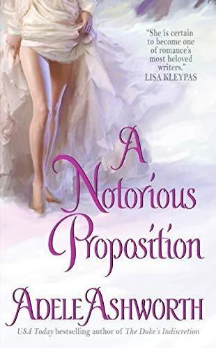 9780061128585: A Notorious Proposition (Winter Garden series)