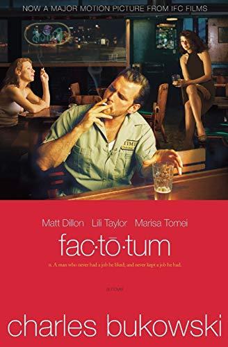 Factotum tie-in: Charles Bukowski